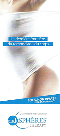 traitement anti-cellulite Microvibration Compressive® Endosphères®Therapy